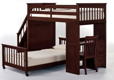 двухъярусная кровать из дерева Эсминец