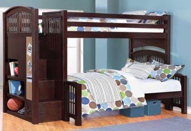 двухъярусная кровать Жийцугав из дерева