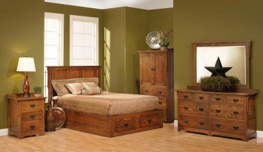 деревянная спальня Бальмес
