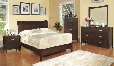 деревянная спальня Даллас