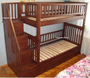 деревянная двухъярусная кровать Абдула