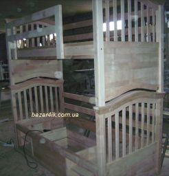 из дерева двухъярусная кровать Джанкшен
