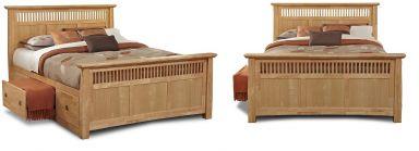 деревянная спальня Вольтер