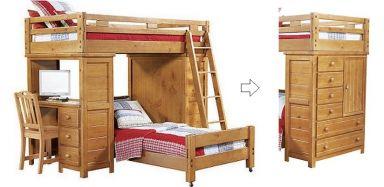 двухъярусная кровать Тажигок