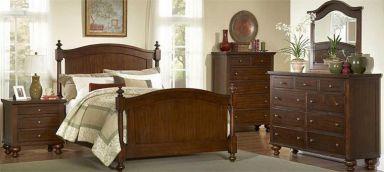 деревянная спальня Шенсюж