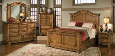 деревянная спальня Четадин