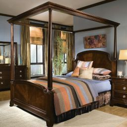кровать с балдахином Южвеи