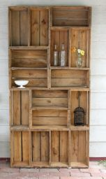 стеллаж деревянный Лаконраз