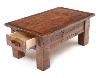 журнальный столик из дерева Милкэйн