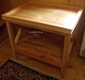 кофейный столик из дерева Пирман