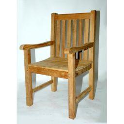 стул деревянный с подлокотниками Тисвед