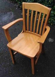 стул деревянный с подлокотниками Зотлан