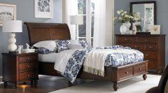 деревянная спальня Тешань