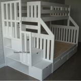двухъярусная кровать с комодом лестницей Кешорт