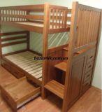 двухъярусная кровать с лестницей комодом Дюссельдорф
