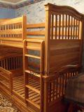 деревянная двухъярусная кровать Азура