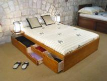 деревянная кровать Ореал