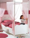 детская кровать с балдахином Ларго