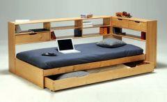 угловая односпальная кровать Мейсон