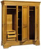 деревянный шкаф для одежды Бемагофан