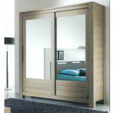 деревянный шкаф купе Буравлим