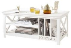 журнальный деревянный столик Хелтон