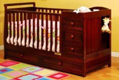детская кровать трансформер из дерева Петри
