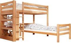 Двухъярусная перпендикулярная кровать Дженсон