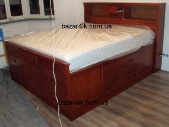 кровать двуспальная Горизонт