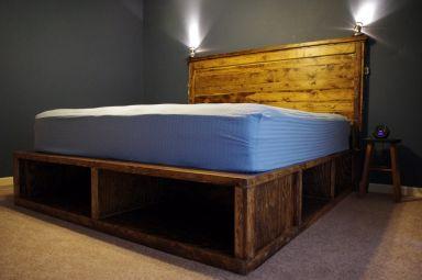 Кровать деревянная Сэрваш