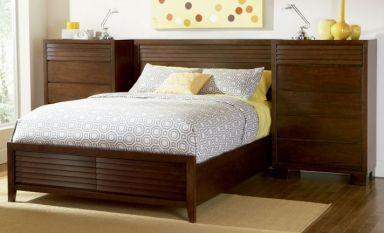 кровать деревянная Меркурий с ящиками