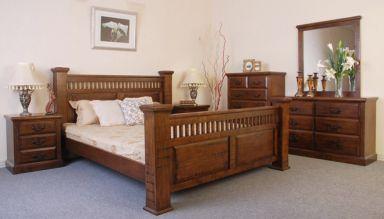 деревянная спальня Себжайц