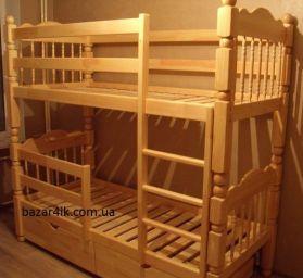 деревянная двухъярусная кровать Гайана