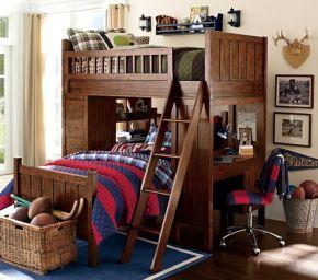 Кровать двухъярусная Хогануб