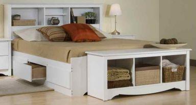 кровать деревянная Марбел варианты ящиков/изголовья