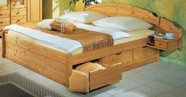 кровать из дерева Гарлем