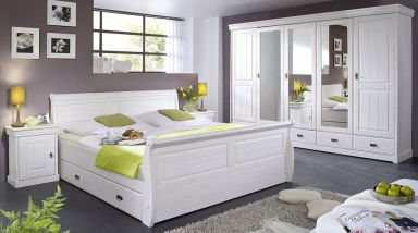 Кровать деревянная Увардац