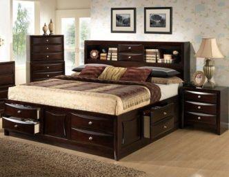 деревянная спальня Барлов
