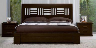 Кровать деревянная Бенелюкс