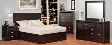 деревянная спальня Блундал