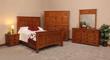 деревянная спальня Решица