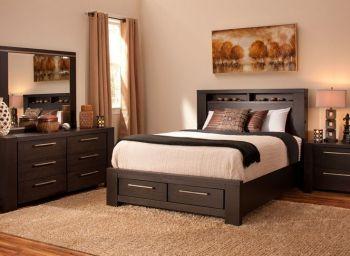 деревянная спальня Мансанарес
