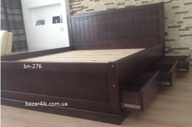 кровать из дерева Фьелл