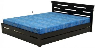 кровать деревянная Альпина +выбор изголовья/ящиков