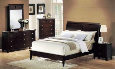 деревянная спальня Альхосе