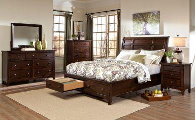 деревянная спальня Дубровник