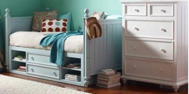 односпальная кровать с комодом Сегуджо