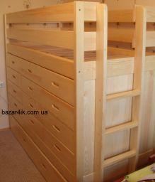кровать чердак Пилот