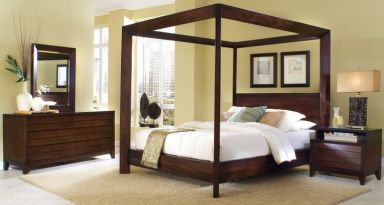 кровать с балдахином Салерно