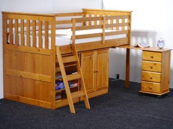 кровать чердак Монпесер